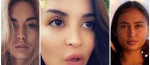 Asma s'en prend à Astrid et Hilona dans l'affaire de la vidéo intime de Dita. Credit: Instagram/Snapchat