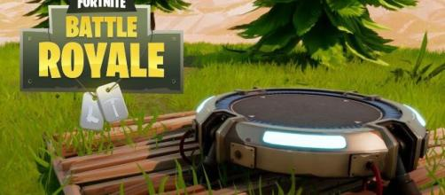 """Epic Games teases the Launch Pad in """"Fortnite"""" Chapter 2. Credit: In-game screenshot"""