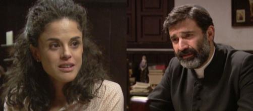 Il Segreto, trame: Don Berengario comunica al popolo di avere una figlia