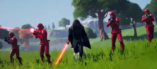 Kylo and Zorii skins will be added in 'Fortnite.' [Image source: Fortnite/YouTube]