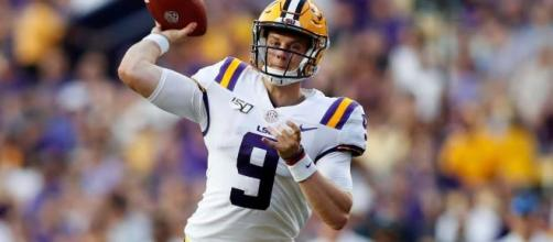 LSU's Joe Burrow became the second LSU player to win the Heisman Trophy. [Image Credit] ESPN College Football/YouTube