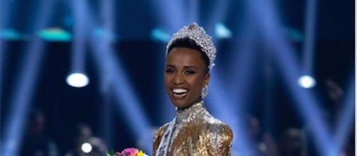Miss Universe 2019 Zozibini Tunzi. Credit: Wikimedia Commons/ Alex Mertz