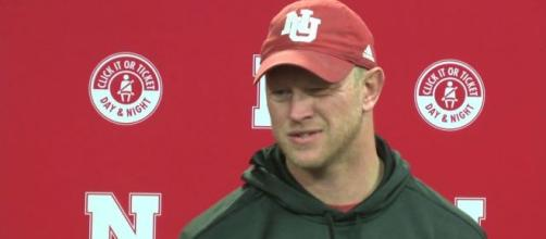Scott Frost is having a nice finish to the 2020 class. [Image via Huskersonline/YouTube]