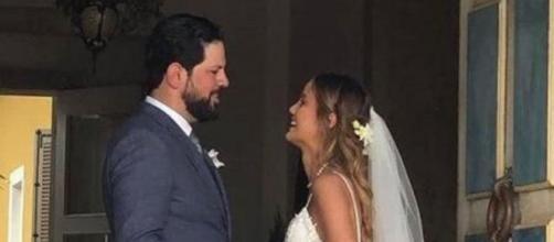 Cantor Sorocaba se casa com Biah Rodrigues no interior de São Paulo. (Arquivo Blasting News)