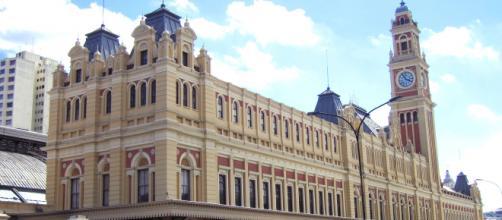 Estação da Luz, na região central de São Paulo, que abriga o Museu da Língua Portuguesa. (Arquivo Blasting News)