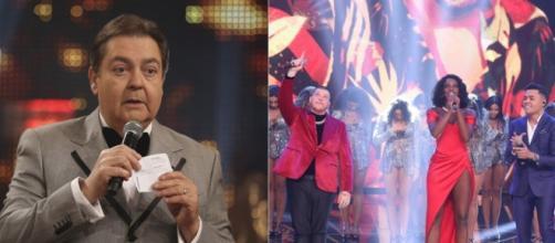 Gabriel Diniz e Cristiano Araújo eram dois grandes nomes da música sertaneja. (Reprodução/TV Globo)