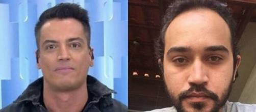Leo Dias e Wesley Camargo acabaram na Justiça. (Fotomontagem)