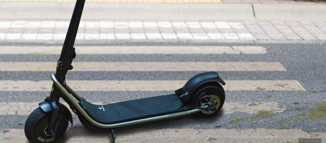 Electric scooters are pushing it a bit far