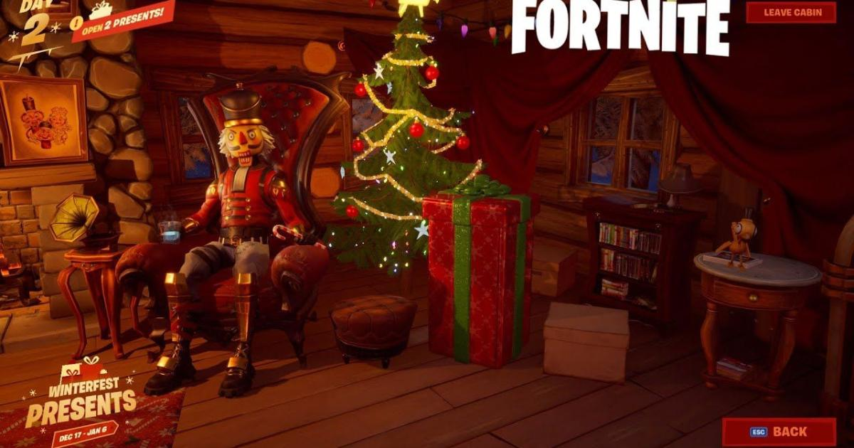 Fortnite Christmas Gifts 2020 Fortnite' leak reveals more details on free Winterfest gifts from