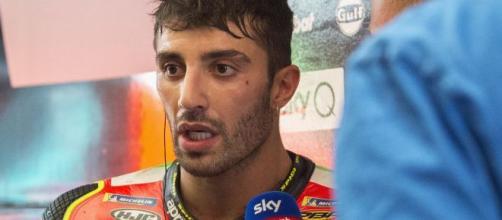 Andrea Iannone, in attesa delle controanalisi, è stato sospeso dalla FIM per doping.