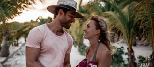 "Angelique Boyer e Sebastián Rulli namoram desde a novela ""Teresa"". (Arquivo Blasting News)"