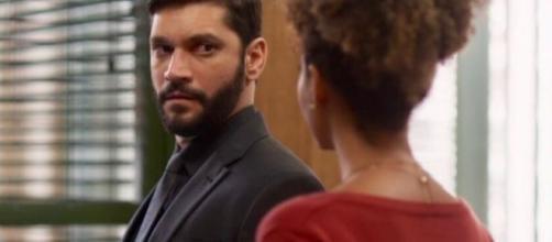 Diogo vai deixar Gisele mexida ao propor um casamento na Grécia. (Reprodução/TV Globo)