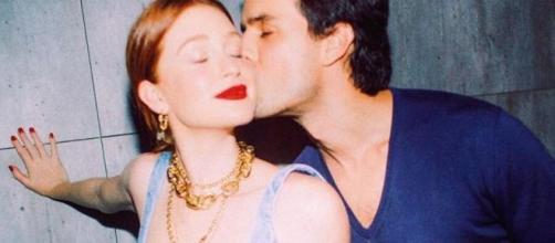 Marina Ruy Barbosa e o marido, Alexandre Sarnes Negrão. (Reprodução/ Instagram/ @marinaruybarbosa)
