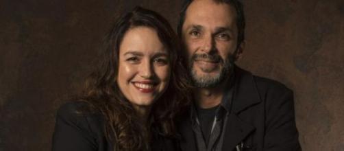 Roteirista Manuela Dias e diretor José Luiz Villamarim. (Divulgação/TV Globo)