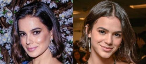 Vera Viel e Bruna Marquezine aparecem juntas e público faz comparação. (Reprodução/Fotomontagem)