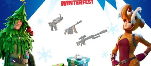 'Fortnite' event brings two free skins and unvaulted weapons. [Source: Own work]