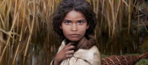 Un chicle de 5700 años revela la cara de la mujer que lo masticaba