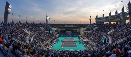 Il bellissimo impianto di Abu Dhabi dove si disputa il Mubadala World Tennis Championship