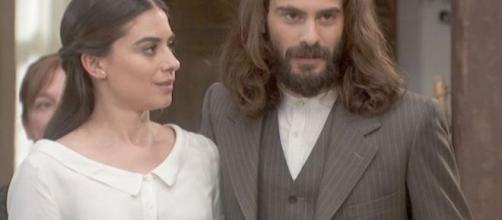 Il Segreto trame: Isaac ed Elsa diventano marito e moglie ed escono di scena