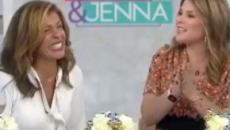 'Today's' 'Hoda & Jenna' joys: Hope Catherine crawls, Jenna honors 'Gamps'