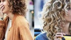 Tagli capelli ricci nell'inverno 2020: le chiome corte, la frangia e il colore Dark Cooper