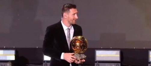 6e Ballon d'Or pour Messi (Credit Image : Twitter/ @TyCSports)