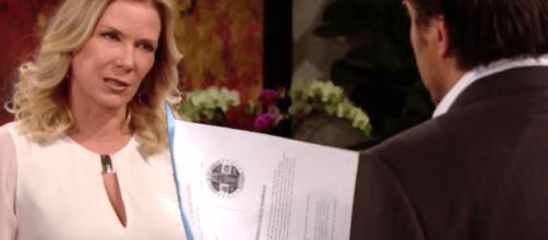 Beautiful, trame Usa: Ridge chiede a Brooke di perdonare Thomas per evitare il divorzio