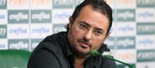 Era Alexandre Mattos chega ao fim no Palmeiras. (Arquivo Blasting News)