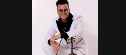 Il violinista palermitano Leandro Renzi