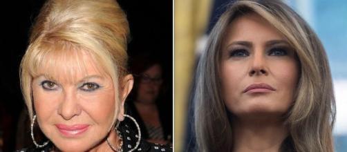 Ivana e Melania, passato e presente di Donald Trump