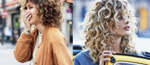 Tagli di capelli: le chiome corte ricce nell'inverno 2020