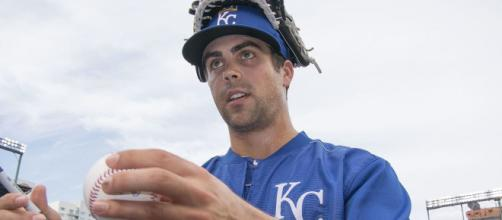 Whit Merrifield could be had for less than expected. [Image via Keith Allison/Wikimedia Commons]