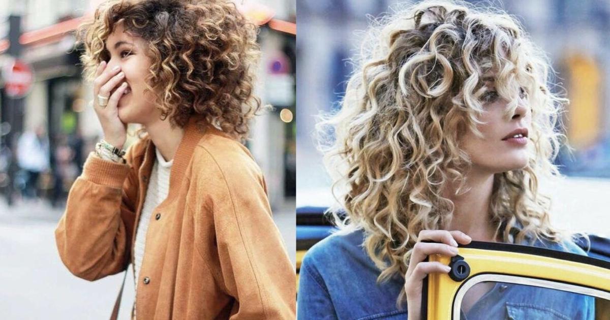 Tagli capelli ricci nell'inverno 2020: le chiome corte, la ...
