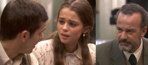 Il Segreto, anticipazioni spagnole: Ignacio rivela a Pablo e Carolina che sono fratellastri.