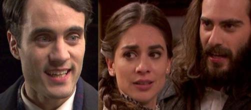Il Segreto trame: Alvaro contatta Elsa per chiederle perdono, lei accetta d'incontrarlo