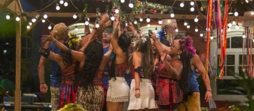No 'BBB17', a galera não perdia tempo e curtia todas as festas intensamente. (Reprodução/TV Globo)
