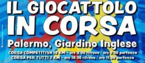 Podismo e solidarietà: il 5 gennaio a Palermo 'Il Giocattolo in Corsa'
