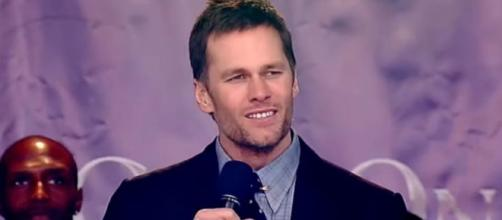 Brady said he's fortunate to be chosen several times (Image Credit: New England Patriots/YouTube)