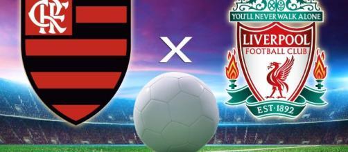 Flamengo e Liverpool se enfrentaram neste sábado (21). (Arquivo Blasting News)