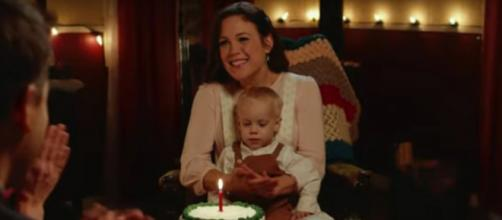 """""""When Calls the Heart' co-creators discuss collaboration and hint at romance in Elizabeth's future: [Image source:HallmarkChannel-YouTube]"""