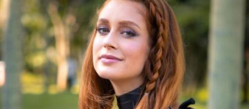 """A atriz Marina Ruy Barbosa fez uma participação especial na novela """"Bom Sucesso"""" em dezembro. (Reprodução/TV Globo)"""