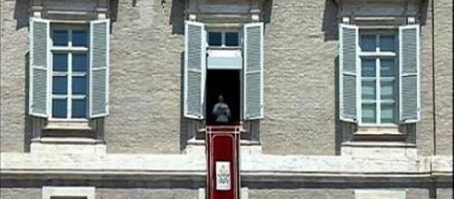 Angelus di papa Francesco al Palazzo Apostolico.