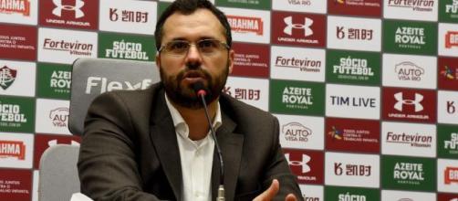 Mario Bittencourt cumpriu promessa de colocar os salários em dia em 2019. (Mailson Santana/Fluminense FC)