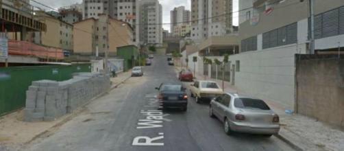 Pai atropela e mata o próprio filho em Belo Horizonte. (Reprodução/Google Street View)