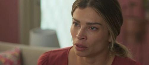 Paloma (Grazi Massafera) vai reencontrar mulher que flagrou na cama de Marcos (Romulo Estrela). (Reprodução/TV Globo)