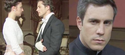Una Vita spoiler: Telmo vuole lasciare gli abiti sacerdotali per salvare Lucia da Samuel
