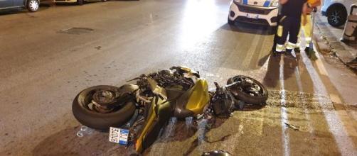 Pordenone: Luca, 17 anni, muore con la moto che si era appena regalato per Natale