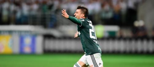 Victor Luis não deve permanecer no Palmeiras em 2020. (Arquivo Blasting News)