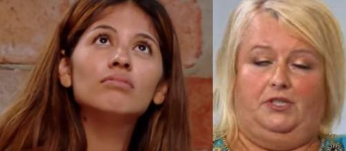 90 Day Fiance - Laura delivers her revenge on Evelin on Christmas Day - Image credit - TLV / YouTube