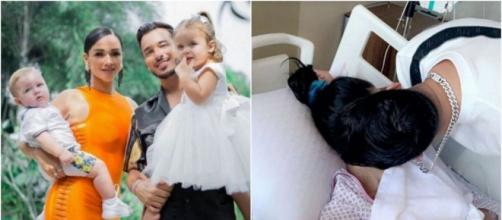 Jazz (JLC Family) a fait une nouvelle fausse couche à cause du stress, elle perd son troisième bébé. ®Snapchat : Laurent Billionaire.